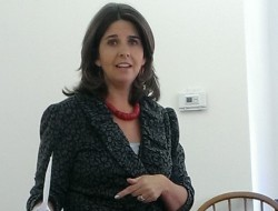 Photos from Listening Session of October 12, 2013 with State Representative Kelly Fajardo.