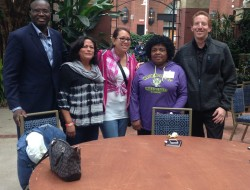 Members of Heart is Home Cooperative Care/New Mexico Direct Caregivers Coalition at National Domestic Worker Alliance National Assembly in September 2016